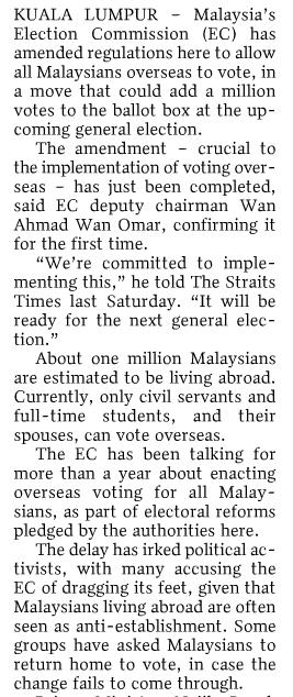 Malaysians abroad