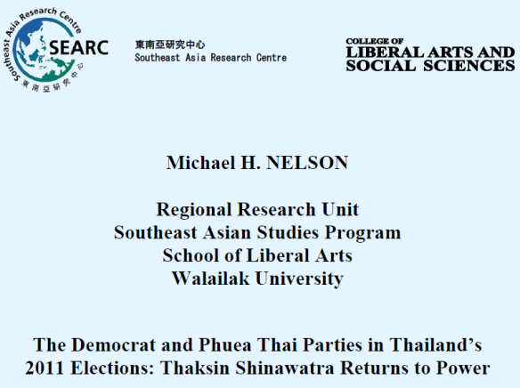 Nelson, Democrat and Phuea Thai