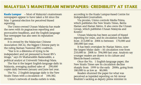 Malaysia papers 1
