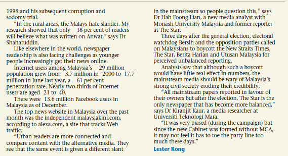 Malaysia papers 2