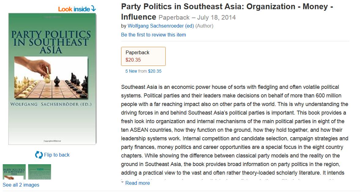 Amazon Party Politics SEA
