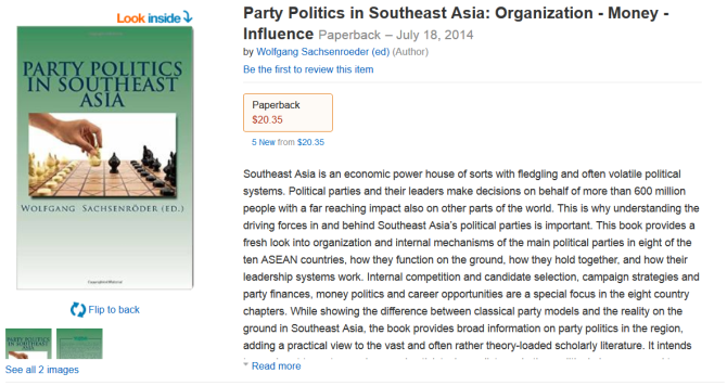 Amazon Party Politics SEA